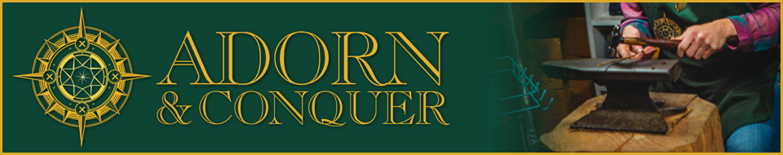 Adorn & Conquer Banner